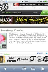 """Strawberry Cocaine"" EP Discription"