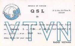 QSL VTVN 1970