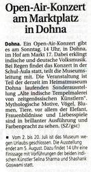 Saechsische Zeitung 3 July 2007