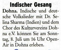 Pirnaer Rundschau 4 July 2007