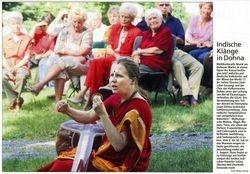 Saechsische Zeitung 10 July 2007