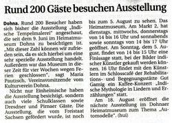 Saechsische Zeitung 2 August 2007