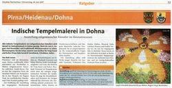 Dresdner Nachrichten 14 June 2007