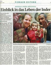 Pirnaer Zeitung 3-4 May 2008