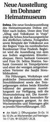 Saechsische Zeitung 29 May 2008