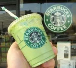 Matcha ad Starbucks!