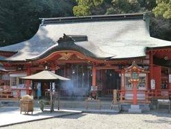 Hayatama Jinja Shrine - Front