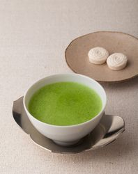 Matcha is always served with Japanese traditional sweets