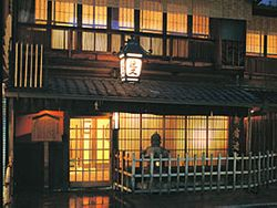 Kinmata; the entrance