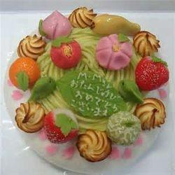 Wagashi Cake