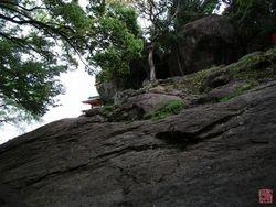 The Way up to the Kamikura Jinja Shrine
