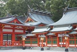 Hayatama Jinja Shrine - Lateral