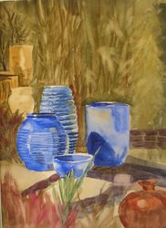 Pottery and Bamboo