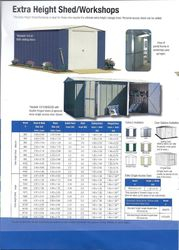Extra Height Shed/Workshop