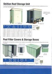 Skillion Roof Storage