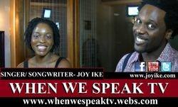 Joy Ike on When We Speak