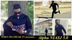 "Jermaine Sain as ""Alpha NIASJ 5.0"""