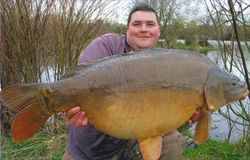 Brent Parry 33lb Mirror