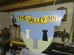 The Valley Inn Tavern sign