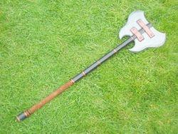 A refurbished axe