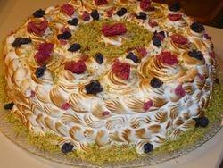 Russian Rum Sponge Cake