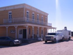 Dragoon Cafe Parked @ Old Tucson Studios
