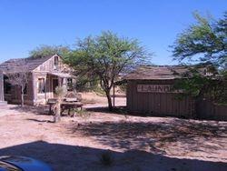 uildings on Old Tucson Studios - Mescal