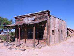 uilding on Old Tucson Studios - Mescal