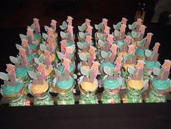 Jungle Themed Babyshower Cupcakes