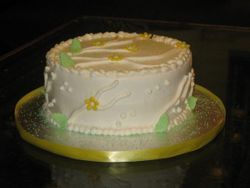 Basic Buttercream Cake