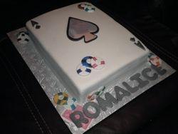 Ace of Spade Cake