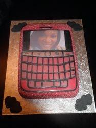 Blackberry Tour Replica Cake