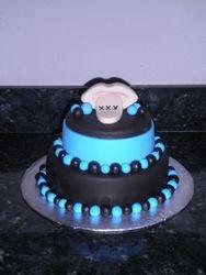 """Shut the """"bleep"""" up Cake"""