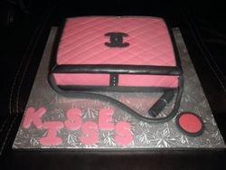Chanel Bag w/ Accessories Birthday Cake