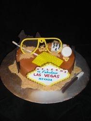 """""""Fear & Loathing in Las Vegas"""" Birthday Cake"""