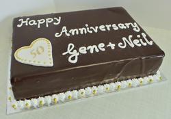 50th Sachertorte Anniversary Cake
