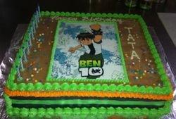 Ben Ten Sheet cake