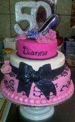"""50th"" Birthday Cake"