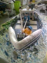 Fishing Trawler Cake