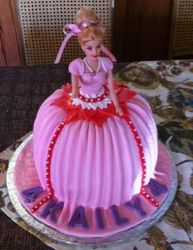 Princess Barbie Doll with pink dress