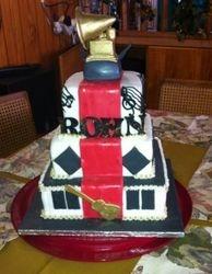 Grammy Award Cake - with red carpet