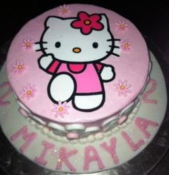 Hello Kitty with edible print 1