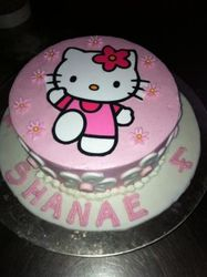 Hello Kitty with edible print 2