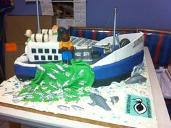 Fishing Trawler Cake for UFE