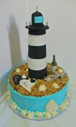 Walvis Bay Lighthouse Engagement Cake.