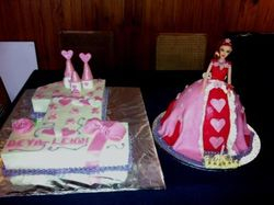 Combo - Nr 1 and doll cake
