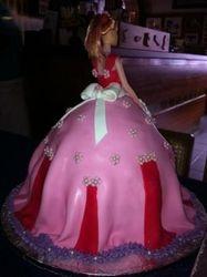 Princess Doll cake back
