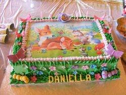 Bambi Edible Print cake