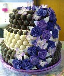 Truffel wedding cake