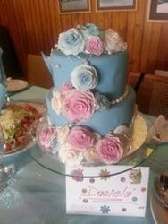 Romantic Birthday cake for 30th Birthday
